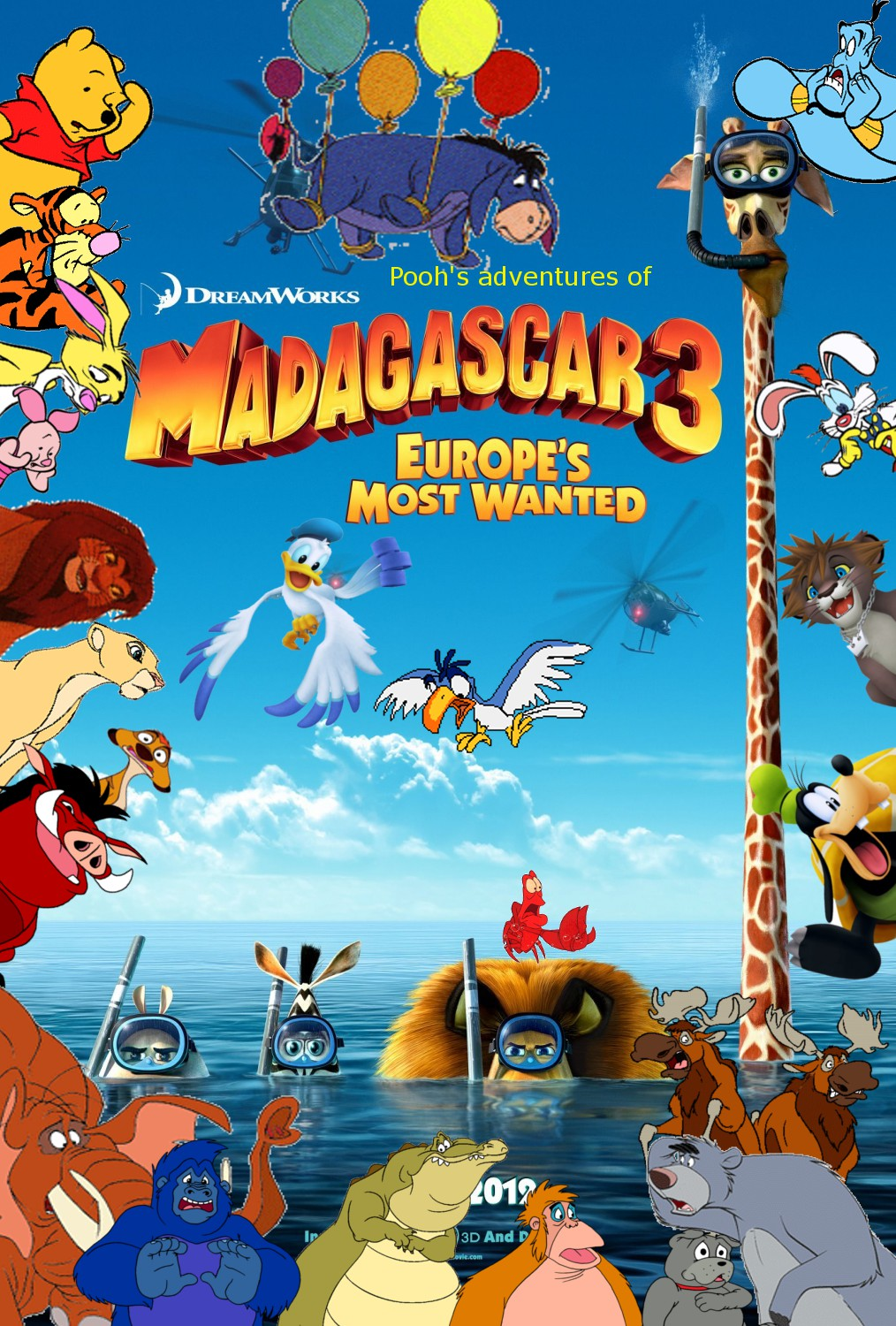 Μαδαγασκάρη 3 / Madagascar 3: Europe's Most Wanted (2012)