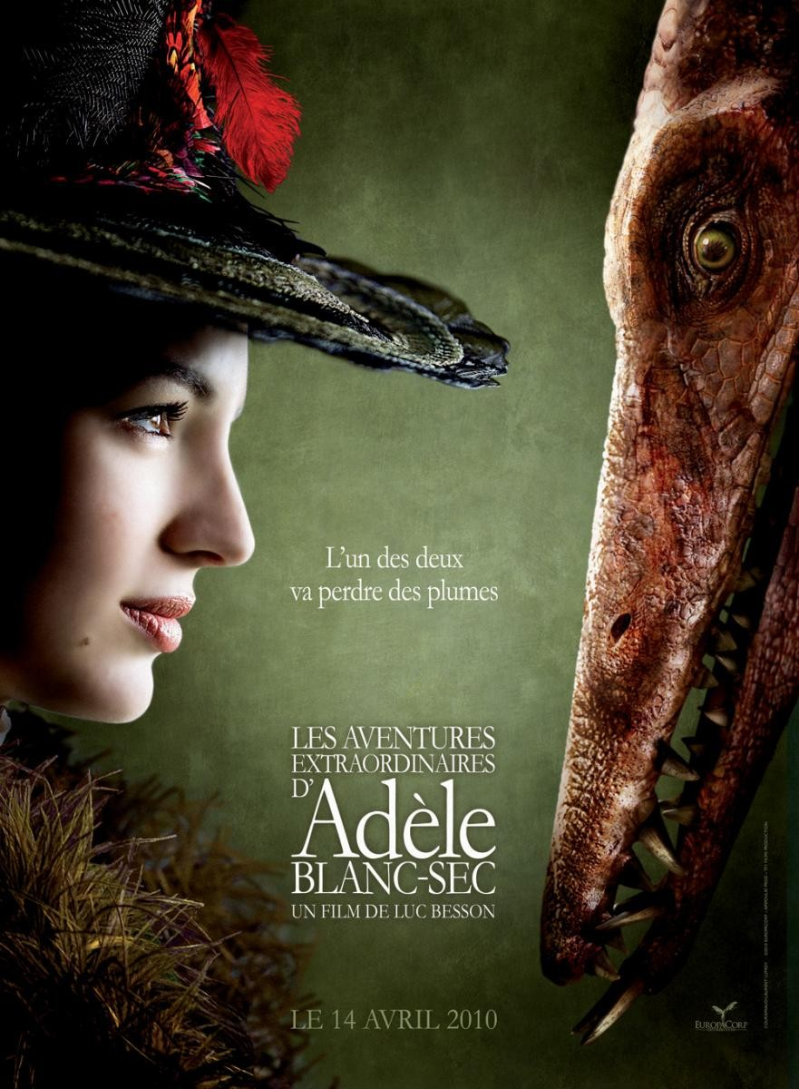 The Extraordinary Adventures of Adele / Les aventures extraordinaires d'Adèle Blanc-Sec (2010)