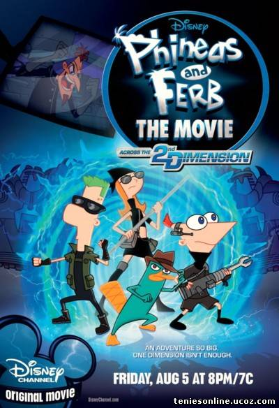 Phineas and Ferb: Across the Second Dimension (2011)