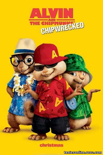 Alvin and the Chipmunks 3 Chipwrecked (2011)