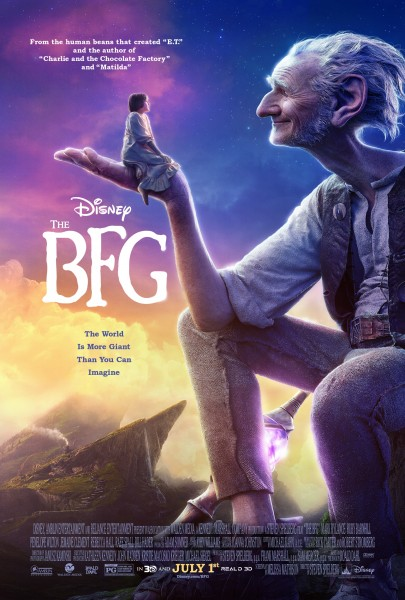 The BFG / Big Friendly Giant (2016)