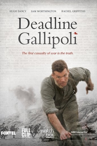 Deadline Gallipoli  (2015– ) TV Mini-Series