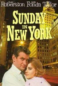 Sunday in New York (1963)