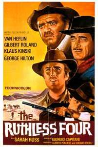 The Ruthless Four (1968)