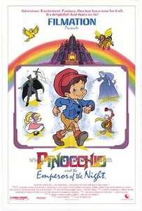 Pinocchio and the Emperor of the Night (1987)
